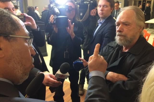 Réal Létourneau, à droite, et Mohamed Skimaoui, à... (Collaboration spéciale Ian Bussières)
