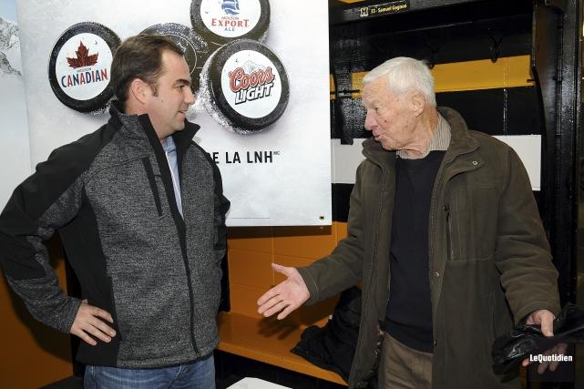 En 2013, Jean-Hugues Tremblay avait renoué avec Geoff... (Archives Le Quotidien, Rocket Lavoie)