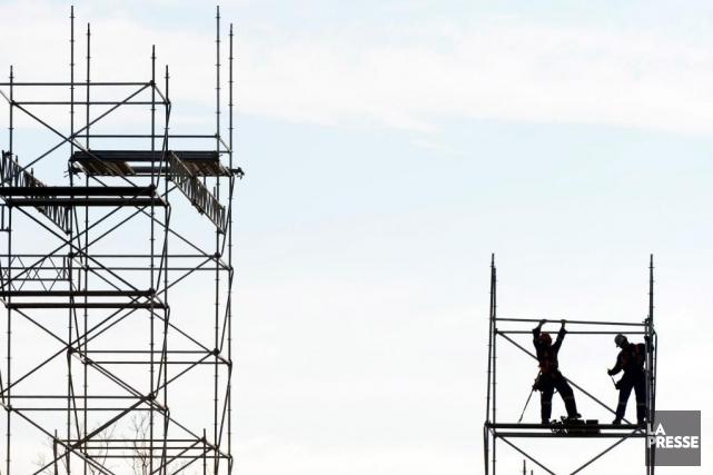Le secteur de la construction est l'un des... (PHOTO BERNARD BRAULT, ARCHIVES LA PRESSE)