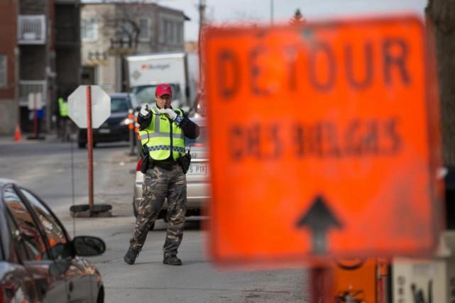 Montréal entreprend une révision de ses pratiques afin... (PHOTO SIMON GIROUX, LA PRESSE)