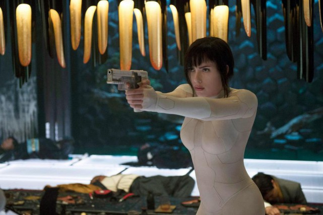 Scarlett Johansson incarne l'énigmatique Major dans Ghost in the... (Photo Jasin Boland, fournie par Paramount Pictures )
