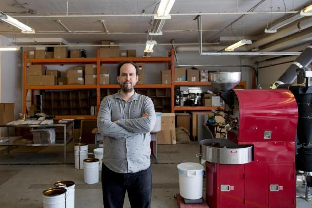 Guillaume Kittel, de Kittel Compagnie de café... (Photo Marco Campanozzi, La Presse)