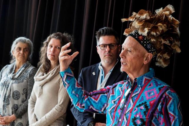 De gauche à droite: Catherine Joncas, membre fondatrice... (Photo Alain Roberge, La Presse)