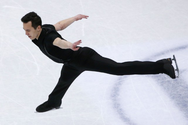Patrick Chan... (Photo Grigory Dukor, Reuters)