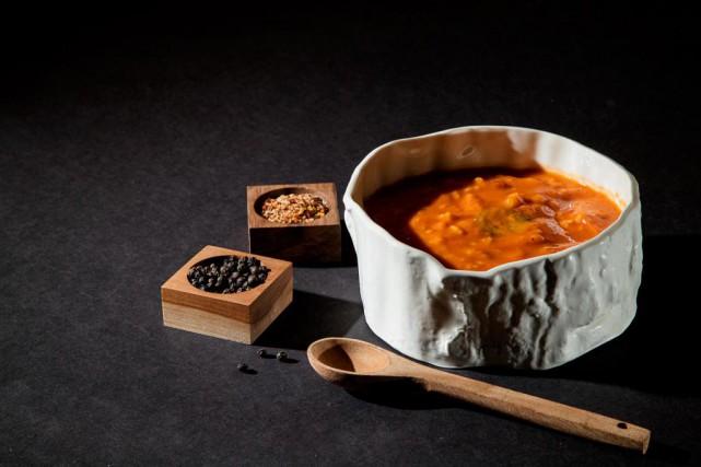 L'offre de soupes, crèmes et potages réfrigérés explose,... (Photo Alain Roberge, La Presse)