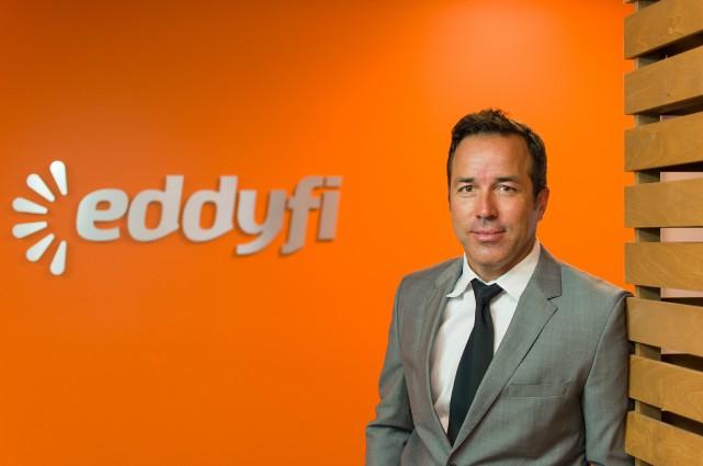 Martin Thériault, pdg de la compagnie Eddyfi... (Eddyfi)