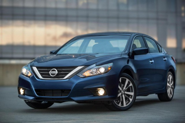 La Nissan Altima... (PHOTO Nissan)
