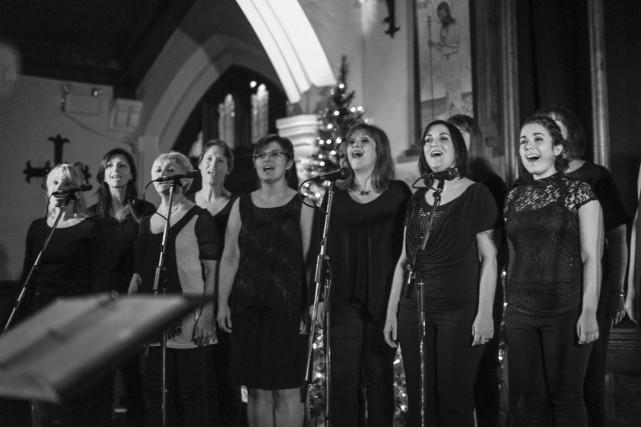 Dix-sept chanteurs de l'école de chant Cantabilé seront... (Sam La Cam)