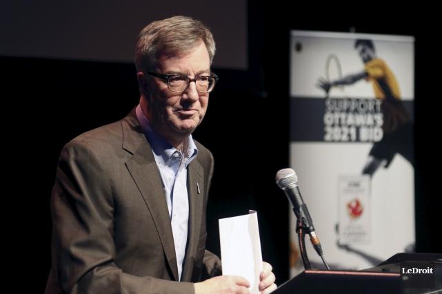 Le maire d'Ottawa Jim Watson croit que la... (Patrick Woodbury, Le Droit)