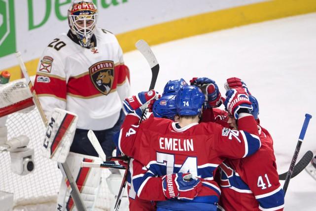 Le Canadien de Montréal a explosé avec trois... (La Presse canadienne, Ryan Remiorz)