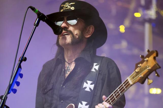 Ian «Lemmy» Kilmisterest décédé en décembre 2015 à... (AFP, OLI SCARFF)