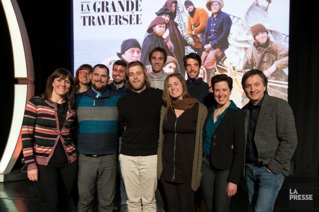Choisis parmi 1200 inscriptions, les candidats de La... (La Presse, Olivier Jean)