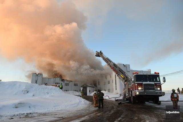 Un lieu d'hébergement touristique bien connu du Saguenay,... (Photo Le Quotidien, Rocket Lavoie)