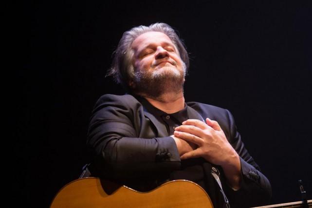 Daniel Bélanger a présenté son nouveau spectacle auMétropolis,... (PHOTO OLIVIER PONTBRIAND, LA PRESSE)
