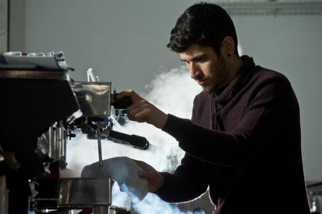 David Lalonde, co-fondateur de l'Académie de café de... (Photo Martin Chamberland, La Presse)