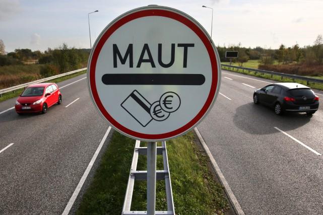 Mautadits péages La chambre haute du parlement allemand... (photo AFP)