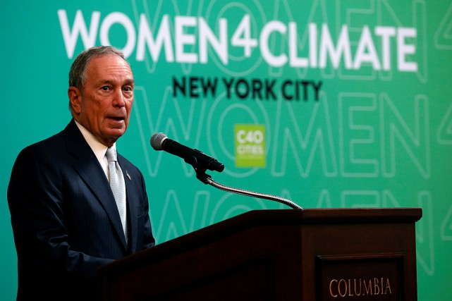 L'ancien maire de New York, Michael Bloomberg, a... (PHOTO BRENDAN MCDERMID, ARCHIVES REUTERS)