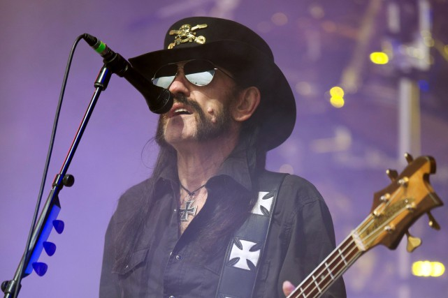Ian «Lemmy» Kilmister, le leader du groupe Motörhead, est... (Photo Oli Scarff, archives AFP)
