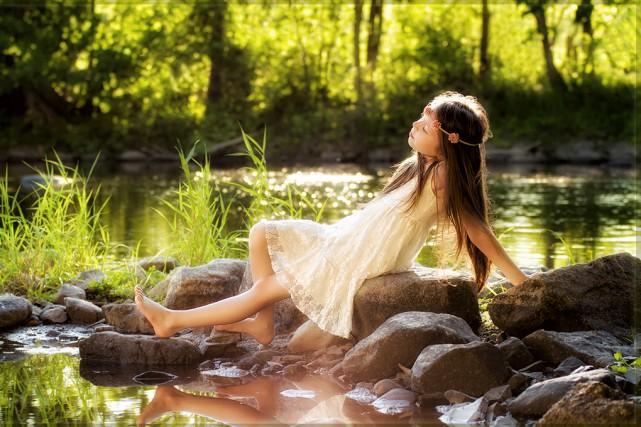 Bain de soleil.... (Fournie)