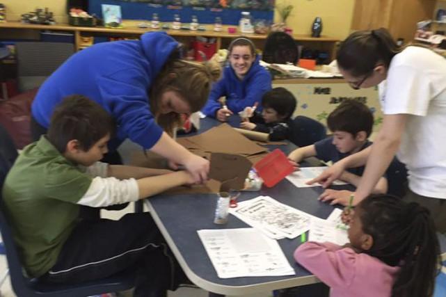 Des enfants atteints d'autisme participent a un programme... (Courtoisie)