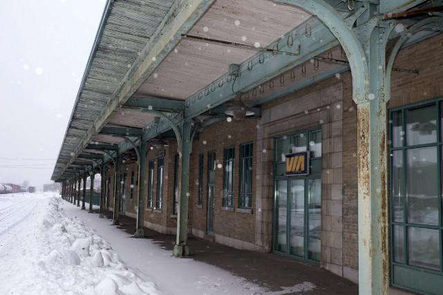 L'ancienne gare de Trois-Rivières.... (Stéphane Lessard)