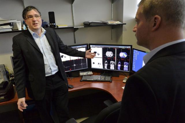 Le Dr Éric Turcotte, spécialiste en médecine nucléaire... (Spectre Média, Maxime Picard)