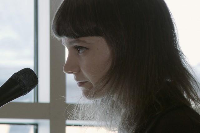 Sara Létourneau, artiste multidisciplinaire et membre du duo... (Courtoisie, Télé-Québec)