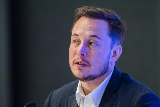 Le fondateur et patron de SpaceX, Elon Musk... (PHOTO HECTOR GUERRERO, ARCHIVES AFP)
