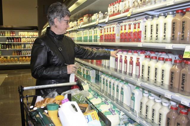 Le lait est généralement moins cher aux États-Unis.... (La Tribune, Jean-François Gagnon)