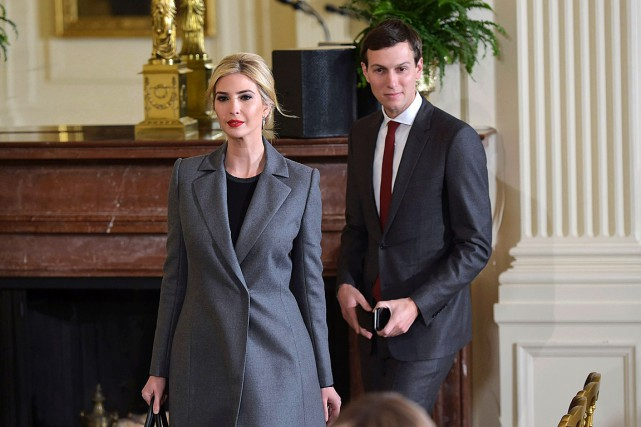 Ivanka Trump et Jared Kushnersont tous deux de... (PHOTO MANDEL NGAN, ARCHIVES AGENCE FRANCE-PRESSE)