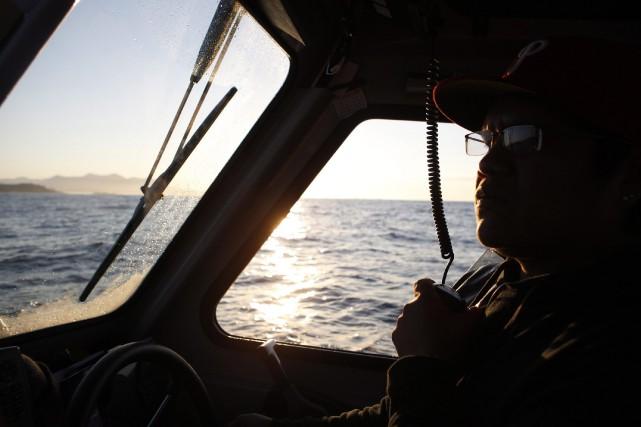 L'appel de détresse duStella Daisy, un cargo d'une... (Photo archives AP)