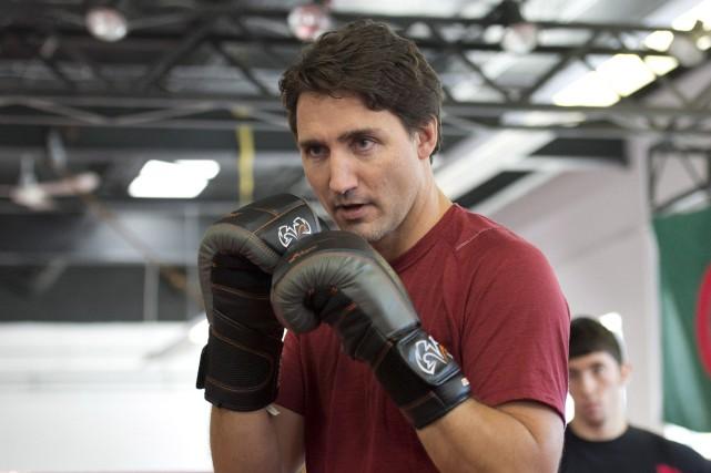 Le premier ministre canadien a lancé à la... (Photo archives La Presse canadienne)