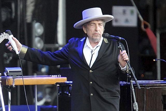 Le discours livré par Bob Dylan pour récolter... (PHOTO ARCHIVES AP)