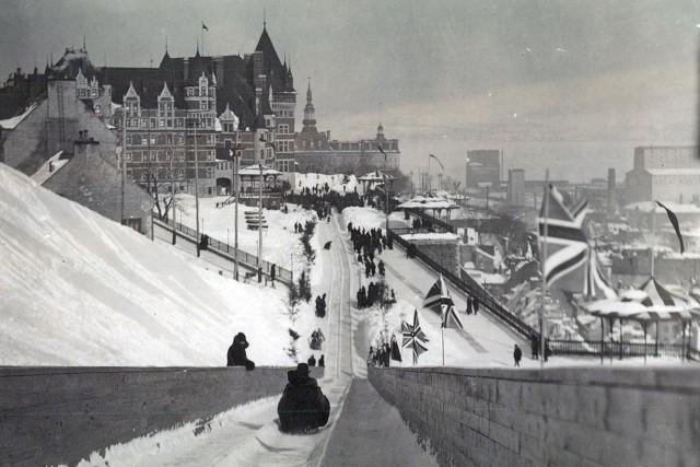 La terrasse Dufferin en 1905... (BAnQ, P600,S6,D1,P410)