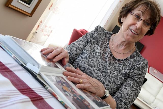Jeanne-Mance Migneault, 82 ans, a toujours adoré les... (Le Progrès-Dimanche, Rocket Lavoie)