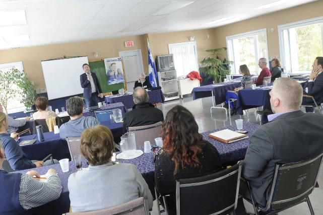 Le congrès de circonscription du PQ dans Lac-Saint-Jean... (Le Progrès-Dimanche, Gimmy Desbiens)