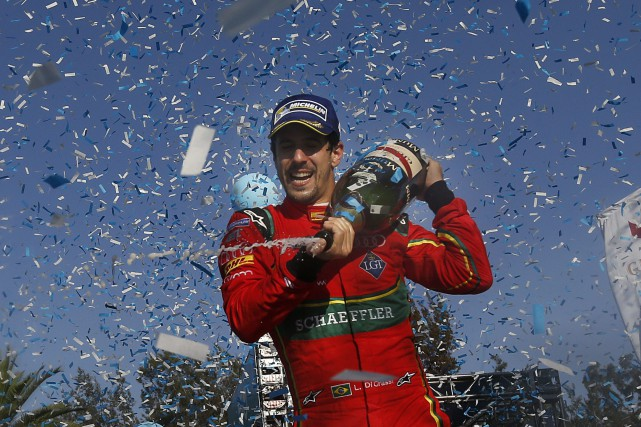 Lucas Di Grassi... (Photo Marco Ugarte, Associated Press)