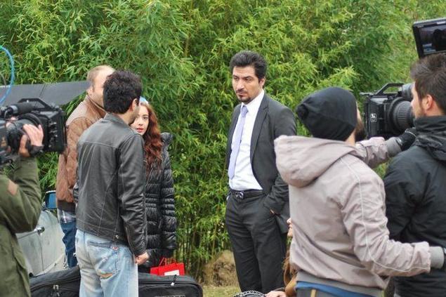 Mohammed al-Qass a été désigné meilleur acteur aufestival... (Photo tirée de Twitter)