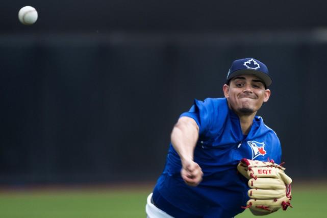 Les Blue Jays de Toronto ont finalisé leur formation en prévision de la... (Photo Nathan Denette, La Presse canadienne)
