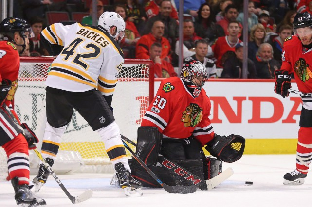 Cinquième victoire consécutive des Bruins, qui ont amorcé... (Photo  Dennis Wierzbicki, USA TODAY Sports)