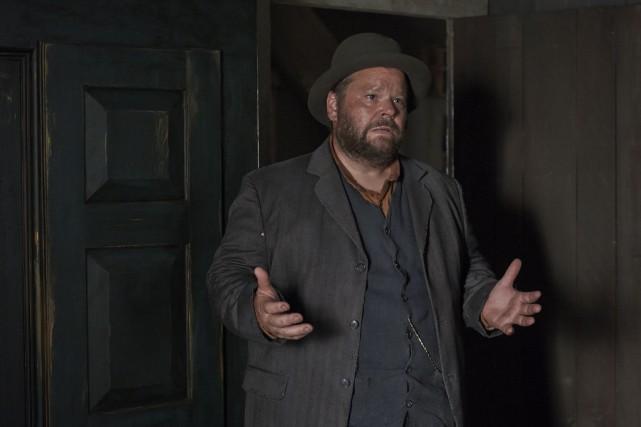 Michel Charette joue Ovide Ruisselet dans Les pays... (Philippe Bossé)