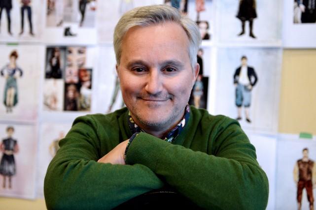 Le metteur en scène Bertrand Alain... (Le Soleil, Erick Labbé)