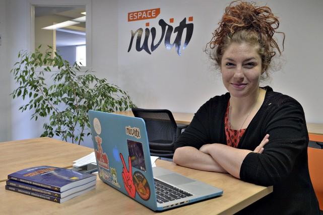 Kim Auclair, une blogueuse et entrepreneure spécialisée dans... (Le Soleil, Patrice Laroche)