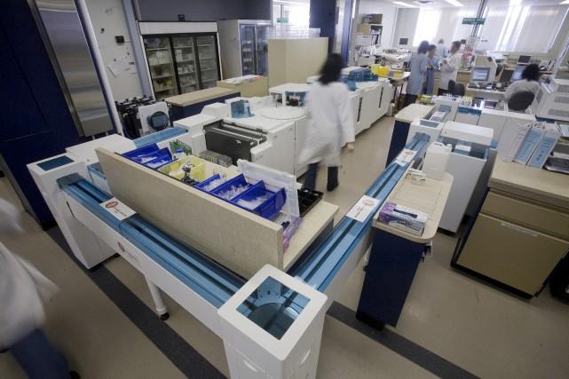 Le laboratoire multifonctionnel du CHUS Fleurimont devra être... (fournie par le CHUS)