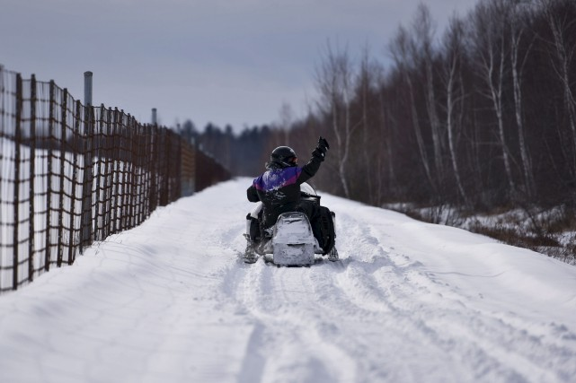 La saison de motoneige a fait le bonheur...