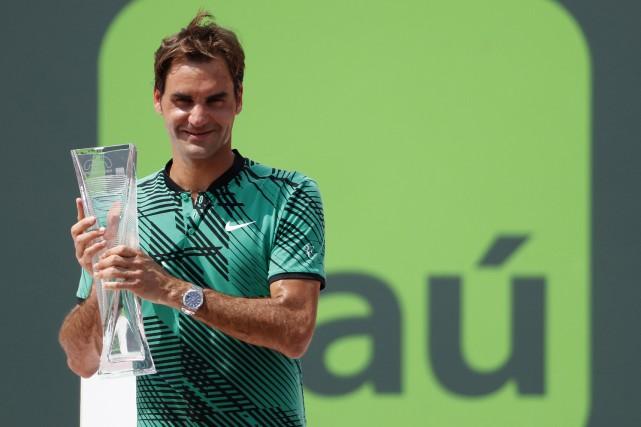 RogerFederer est devenu le champion le plus âgé... (PHOTO REUTERS)