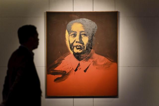 La vente à Hong Kong de ce portrait... (AFP, Anthony Wallace)