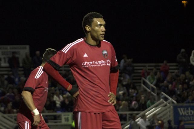 L'attaquant Steevan Dos Santos a eu quelques bonnes... (Courtoisie)