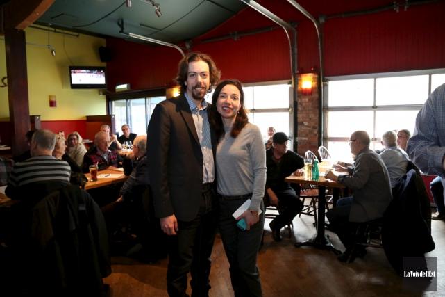 Le président du Bloc québécois dans Shefford, Jocelyn... (Julie Catudal, La Voix de l'Est)