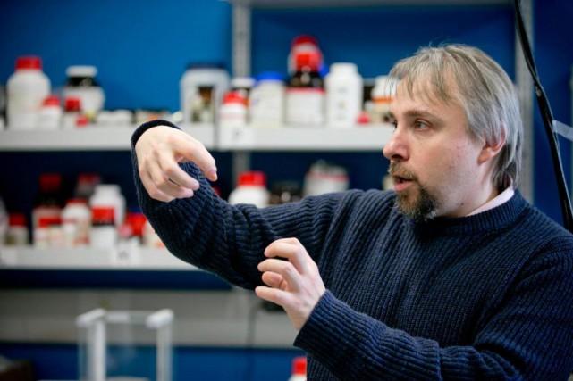Chef de file mondial de la mécanochimie, le... (PHOTO DAVID BOILY, LA PRESSE)